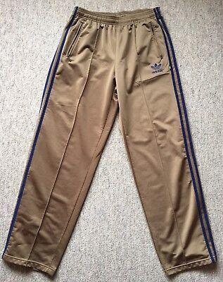 76708539c97bae Adidas Originals Firebird Hose Gr. M gold blau Jogginghose Old School Retro
