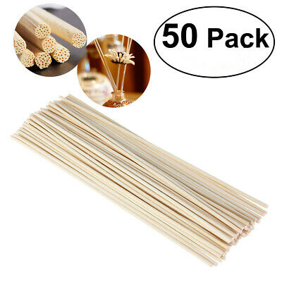 100pcs Premium Rattan Reed Diffuser Replacement Refill Rattan Sticks Aromatic Moderate Price Home Arts & Crafts Chair Caning Spline