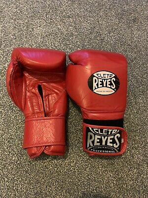 REAL AUTHENTIC CLETO reyes boxing gloves 14oz Velcro