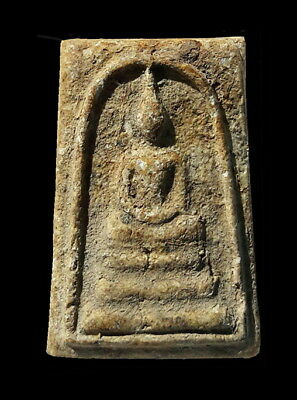 Phra Somdej Lp Toh Wat Rakang Real Old Antique Buddha Thai Amulet very rare.