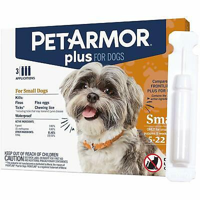 PetArmor Plus Flea & Tick Treatment for Cats over 1.5 lbs - 3 Month Supply NIB!