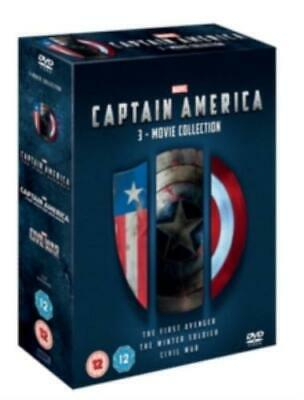 Captain America: 3-movie Collection =Region 2 DVD,sealed=