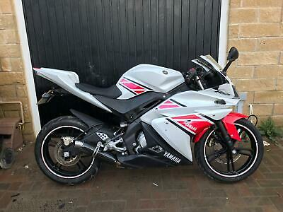 2012 Yamaha Yzfr125 Yzf R125 Anniversary White Learner Legal Delivery Available