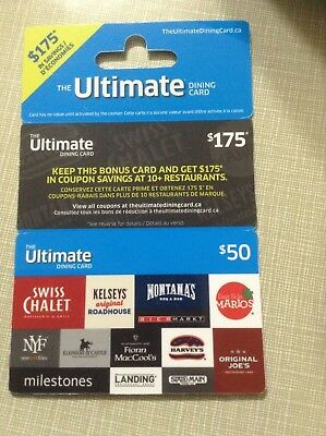$50 The Ultimate Dining Card