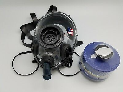 SGE 400/3 Gas Mask BB/ Respirator With Drinking Tube and Filter