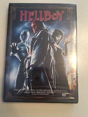 New/Factory Sealed Hellboy (DVD, 2004, 2-Disc Set, Special Edition)