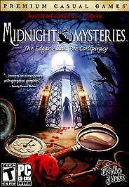 Video Game PC Midnight Mysteries The Edgar Allan Poe Conspiracy NEW SEALED