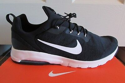 more photos f08b3 2b7b3 Nike Air Max Motion Racer Mens Trainers Uk Size 13 Black New In Box
