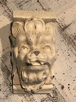 architectural salvage Corbel Gothic Lions Head