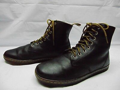 a72c9d5400a DR MARTENS MEN'S 12 US 11 UK TOBIAS Brown Leather 8 Eyes Punk Goth Ankle  Boots