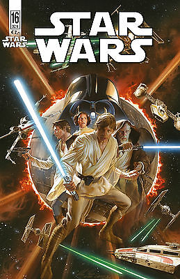 STAR WARS (2015) #16 VARIANT deutsch (US STAR WARS 15+16) ALEX ROSS lim. 333 Ex.