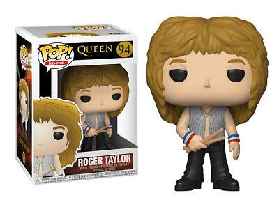 FUNKO POP ROCKS QUEEN  Roger Taylor 4 inch VINYL pop FIGURE new!