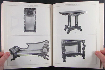 American Antique Federal Furniture Silver Glass Antiques -the 1963 Newark Museum