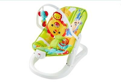 D'Occasion Mattel Fisher-Price Kompakt-Wippe CMR20 Forêt Tropicale (832)