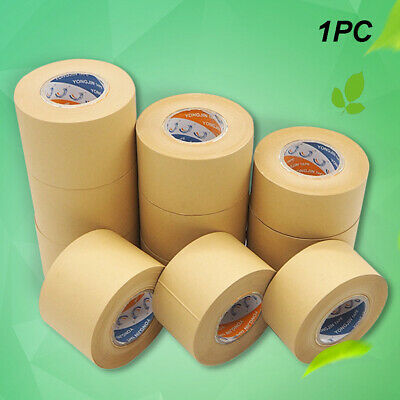 Roll Tape Brown Paper Fixation Water Wet Wide Eco Friendly Picture Framing