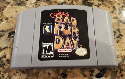 Conker's Bad Fur Day (Nintendo 64, N64) Game Cart Only