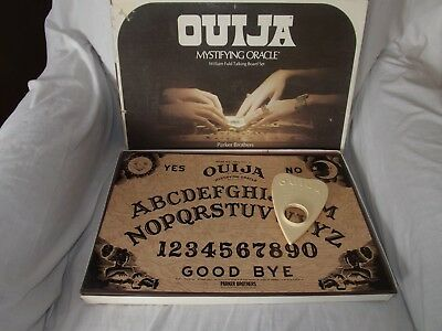 1972 William Fuld Parker Brothers Ouija Board Game