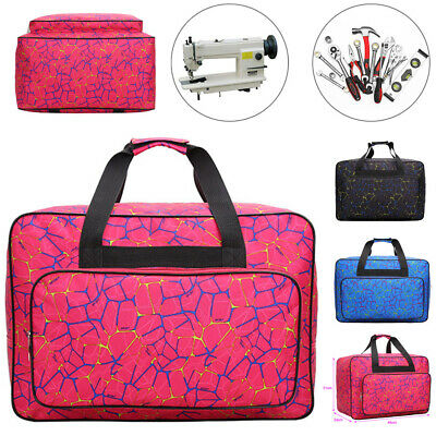 US Sewing Machine Tote Bag Travel Carrying Case Cover Home Storage Nylon Handbag