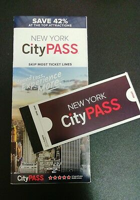 New York City Pass Adult Booklet