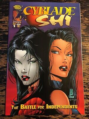 Shi Cyblade #1 First App Witchblade (Crusade) Free Combine Shipping