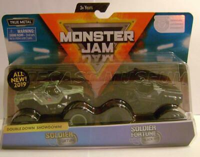 SOLDIER FORTUNE VS Soldier Black Ops 2 Pack Monster Jam Spin Master Diecast  2019