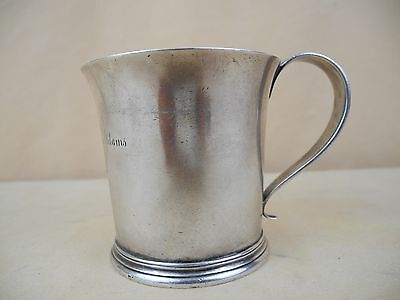 Antique Tiffany & Co 925 Sterling Silver Mug / Cup