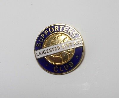 Leicester City Fc  - Vintage Enamel Supporters Club Badge