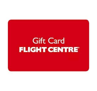 $2700 Flight Centre Gift Card Issued Feb2019 valid for 3 years FREE EXP POSTAGE