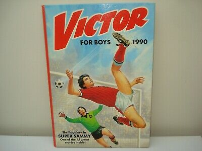 Vintage Annual: Victor Book For Boys 1990