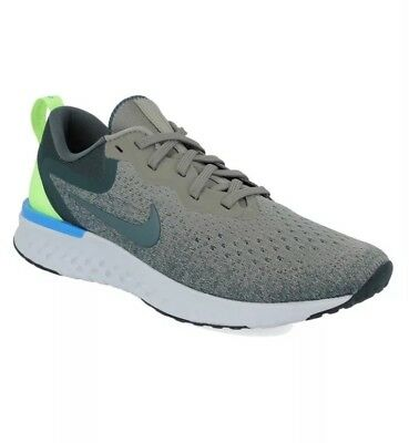 54ba0df270cb Nike ODYSSEY REACT FLYKNIT UK 10 EU 45 Grey Volt Blue Running Shoes A09819 -009