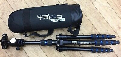 Hahnel Triad C4 Compact Travel Tripod with 360 Degree Ball Head & Travel Case.