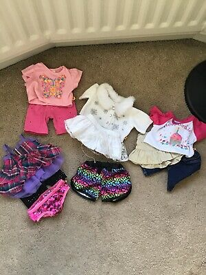 build a bear clothes bundle |4 Outfits| Pyjama Shorts Included