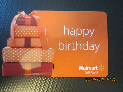 HAPPY BIRTHDAY GIFTS WALMART Swap Trade Collect NO VALUE GIFT CARD