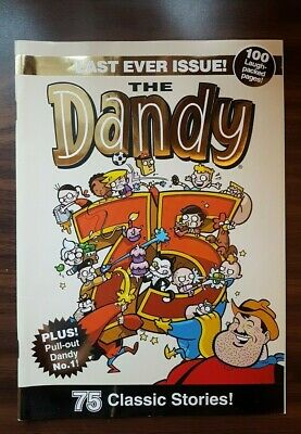 Dandy comic LAST EVER issue (December 2012)- New & Unread