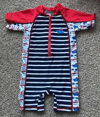 79b21003bf BOYS SPIDERMAN SWIMSUIT/ All In One Swimwear 12-18months - £4.99 ...