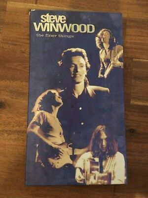 Steve Winwood - the finer things, 4CD Edition