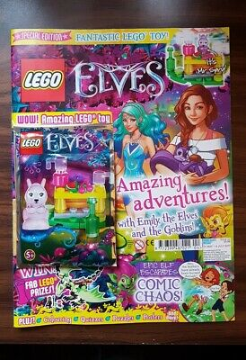 Lego Elves Magazine - Issue 5 - with Mr Spry toy - New/Sealed
