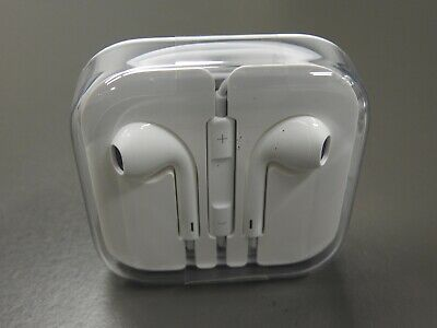 Genuine Original Apple EarPods Headphones with wall charger for iPhone 6, 7 or 8