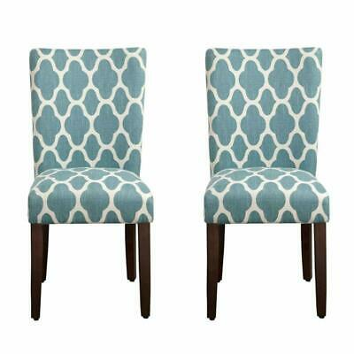 Outstanding Homepop Parsons Classic Upholstered Accent Dining Chair Set Lamtechconsult Wood Chair Design Ideas Lamtechconsultcom