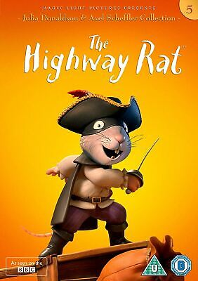 The Highway Rat [DVD] Julia Donaldson and Axel Scheffler Collection