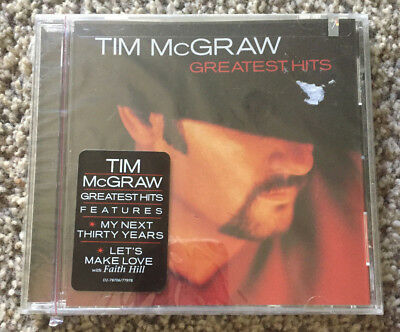 """Tim McGraw """"Greatest Hits"""" CD NEW/SEALED *Curb D2-77978*"""
