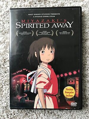 """Spirited Away"" Studio Ghibli, 2-disc DVD"