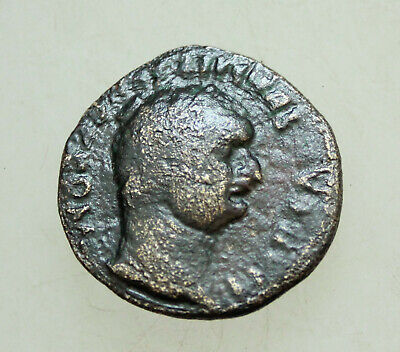 Domitian, 81-96. Bronze 24mm, 7g .MYSIA, Parium Capricorn