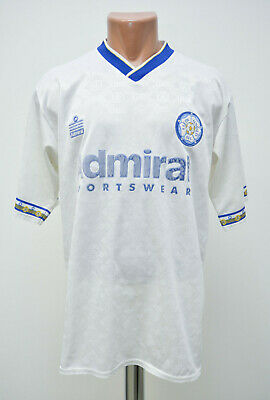 Leeds United 1992/1993 Home Football Shirt Jersey Admiral Size 42/44 Adult