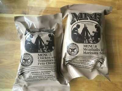 US Army MRE Meal Ready to Eat Verpflegung EPA Outdoor Survival Tactical Camping