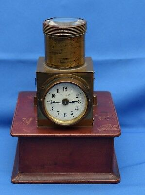 1900s ANTIQUE EDWARDIAN BROTHEL OR CEILING PROJECTION CLOCK