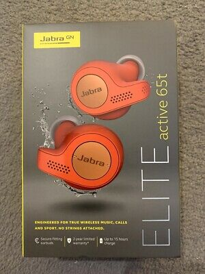Jabra Elite Active 65t True Wireless Bluetooth Earbuds Red Free Fast Delivery Eur 147 34 Picclick Fr