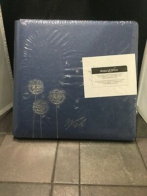 Creative Memories Limited Make a wish 12 x 12 coverset blue album NEW Dandelion