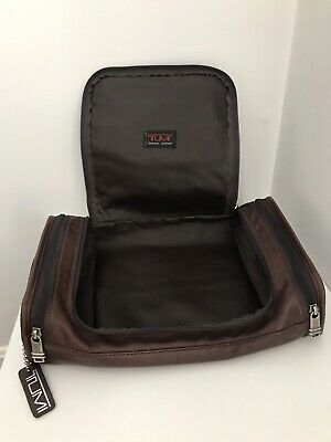 8e70b7cbf70 TUMI ALPHA HANGING Travel Kit Toiletry Shaving Bag Black -  8.40 ...