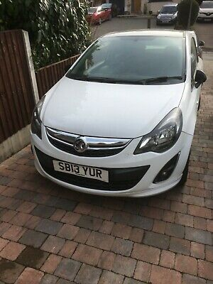 Vauxhall corsa limited edition  spares or repairs